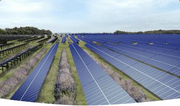 centrale solaire Lherm