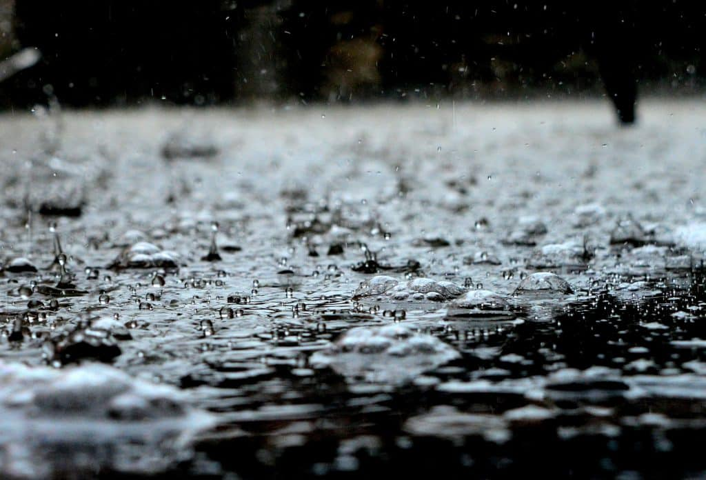 eau de pluie