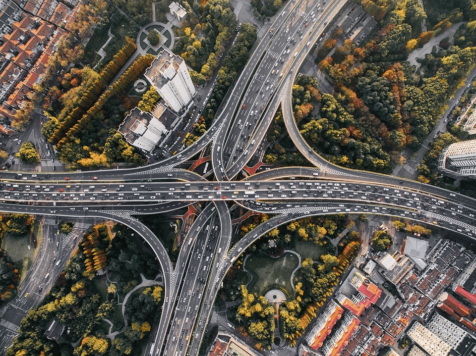 Routes en ville