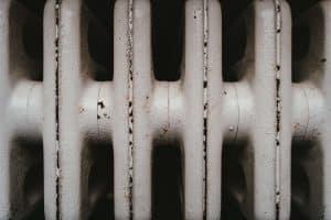 Gros plan d'un radiateur