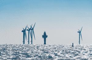 Centrale éolienne en mer