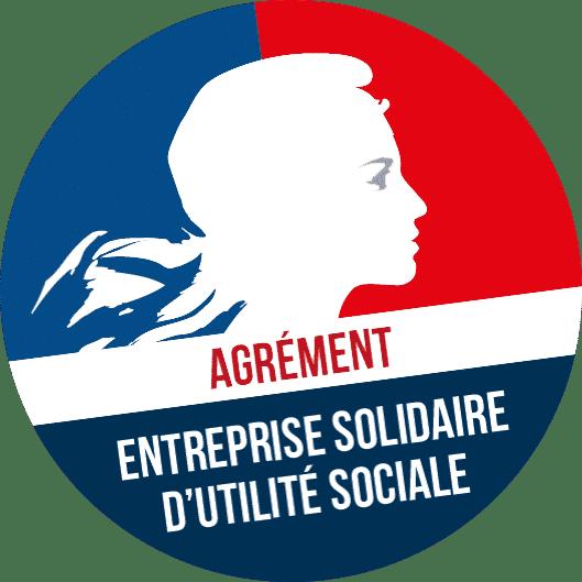 Logo Entreprise Solidaire d'Utilité Sociale